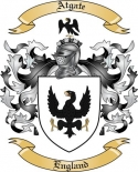 Atgate Family Coat of Arms from England