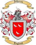 Atheron Family Crest from England2