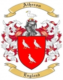 Atheron Family Crest from England