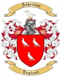 Atherton Family Coat of Arms from England