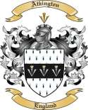 Atkington Family Crest from England
