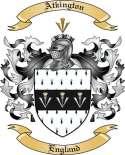 Atkington Family Crest from England