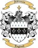 Atkinson Family Crest from England