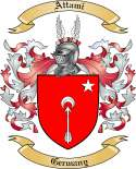Attami Family Crest from Germany