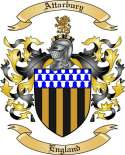 Attarbury Family Crest from England