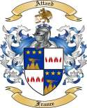 Attard Family Crest from France