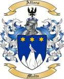 Attaro Family Crest from Malta