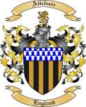 Attebure Family Crest from England