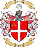 Attridge Family Crest from England2