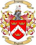 Auguste Family Crest from England