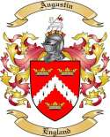 Augustin Family Crest from England