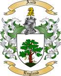 Auld Family Crest from England
