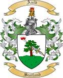 Auld Family Crest from Scotland