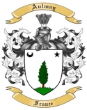 Aulmay Family Crest from France