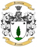 Aumais Family Crest from France