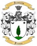 Aumais Family Crest from France