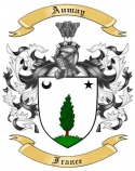 Aumay Family Crest from France