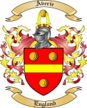 Averie Family Crest from England