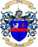 Avey Family Crest from Ireland