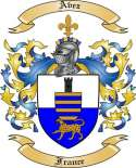 Avez Family Crest from France