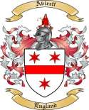 Avirett Family Crest from England