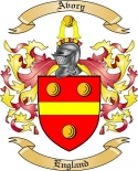 Avory Family Crest from England