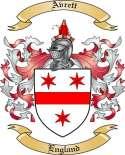 Avrett Family Crest from England
