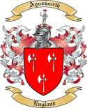 Aynsworth Family Crest from England