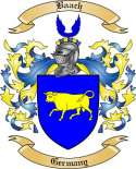 Baach Family Crest from Germany3