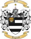Bab Family Coat of Arms from England