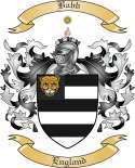 Babb Family Crest from England