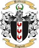 Babbcock Family Crest from England