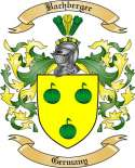 Bachberger Family Crest from Germany