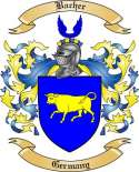 Bacher Family Crest from Germany3