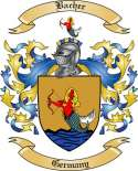 Bacher Family Crest from Germany5