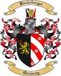 Bachsberger Family Crest from Germany2