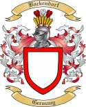 Backendorf Family Crest from Germany