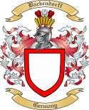 Backendorff Family Coat of Arms from Germany