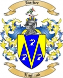 Backer Family Crest from England3