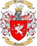 Bacovin Family Crest from Slovakia