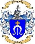 Baczynska Family Coat of Arms from Poland