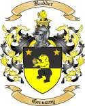 Badder Family Crest from Germany