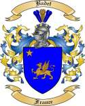 Badet Family Crest from France