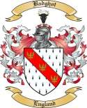 Badghot Family Crest from England