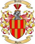Badile Family Coat of Arms from Spain