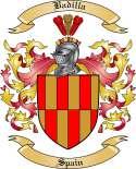 Badilla Family Crest from Spain
