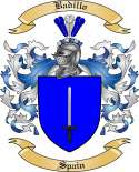 Badillo Family Crest from Spain