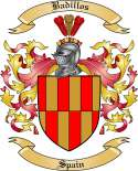 Badillos Family Crest from Spain