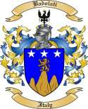 Badolati Family Crest from Italy