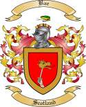 Bae Family Crest from Scotland